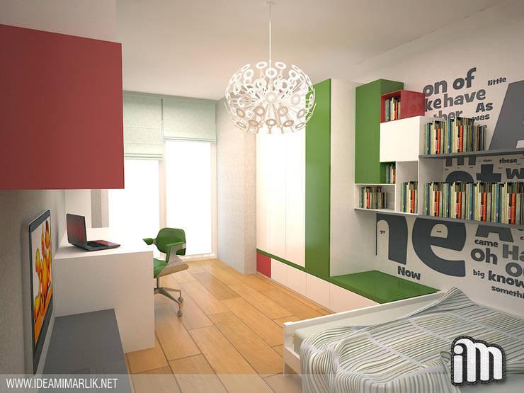 İdea Mimarlık – Göktürk'te Bir Çocuk Odası:  tarz Çocuk Odası