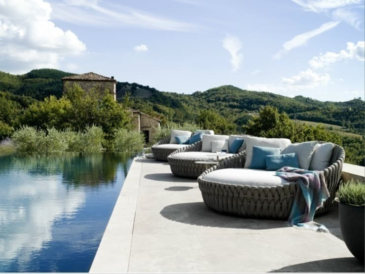 BANNI Elegant Home- SS15: Balcones y terrazas de estilo  de BANNI Elegant Home
