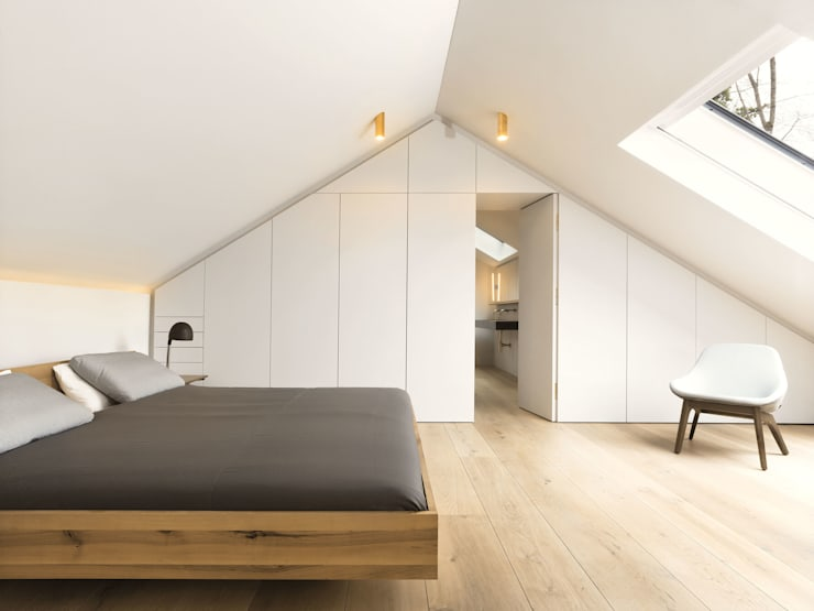 LASSEHAUS:  Schlafzimmer von Spandri Wiedemann Architekten