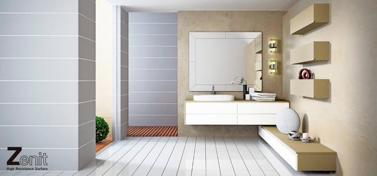 Mobiliario baño Zenit: Baños de estilo  de ALVIC