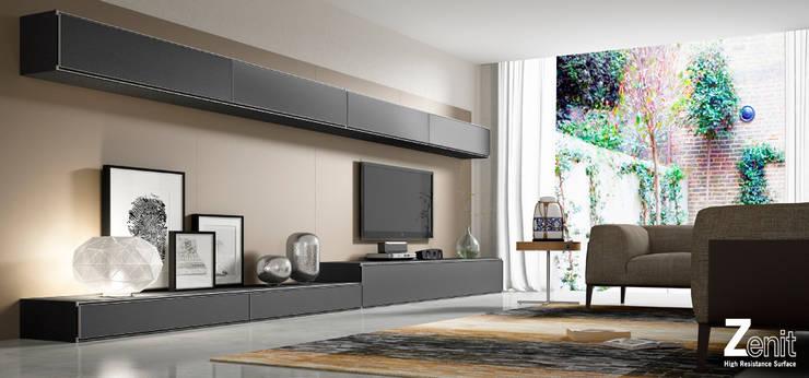 Mobiliario para el hogar Zenit: Salones de estilo  de ALVIC