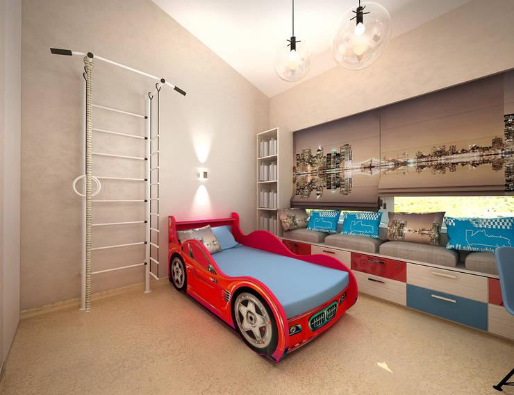 Белое белым: Детские комнаты в . Автор – Дизайн студия 'Чехова и Компания'