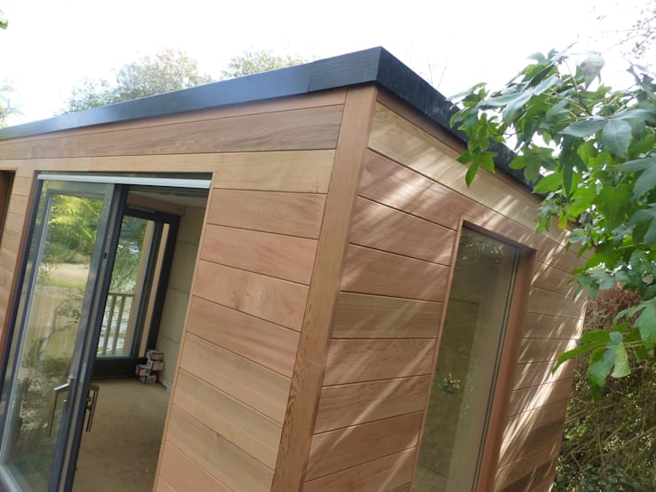 Malpas Project—Cornwall:  Garden by Building With Frames