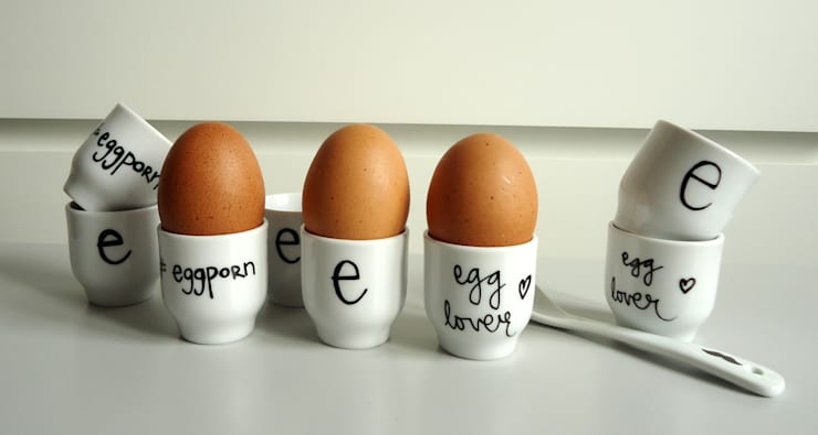 #egg4: styl , w kategorii Kuchnia zaprojektowany przez My Mug Company