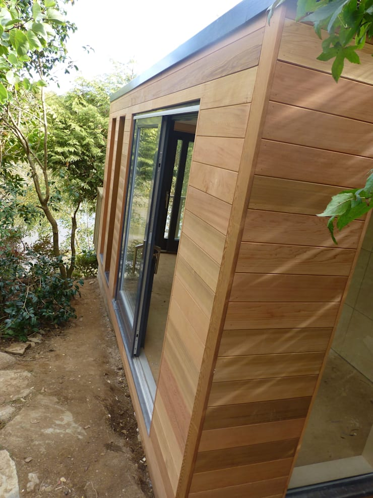 Malpas Project—Cornwall:  Garage/shed by Building With Frames