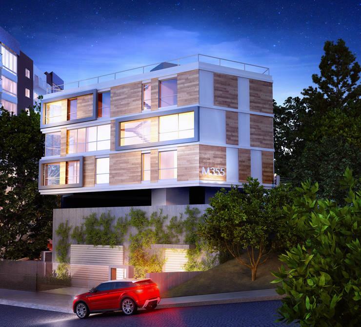 M355,  Edificio de Lofts duplex - Porto Alegre / Brasil: Casas  por hola,