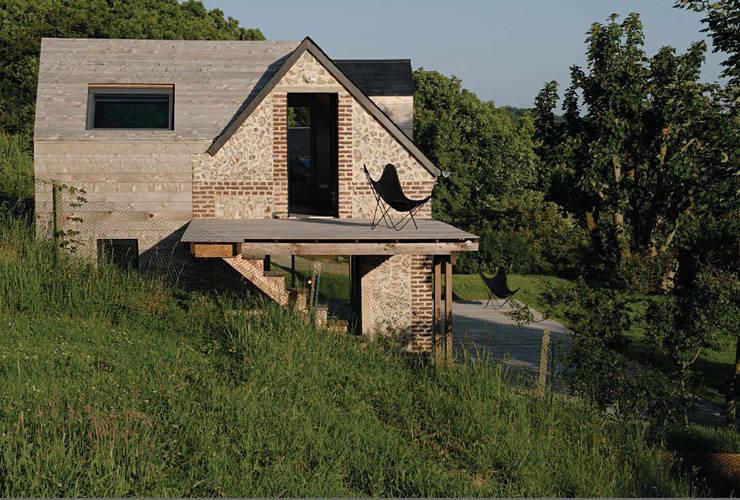 Projekty,  Domy zaprojektowane przez Franklin Azzi Architecture