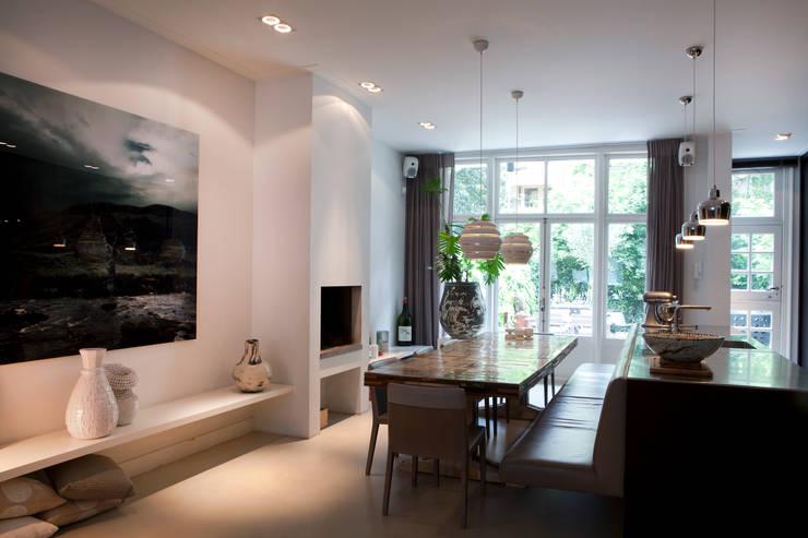 Столовые комнаты в . Автор – Binnenvorm