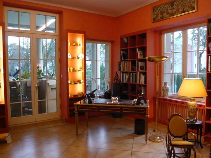 Bibliothek nach Umbau:   von Atelier von Wecus