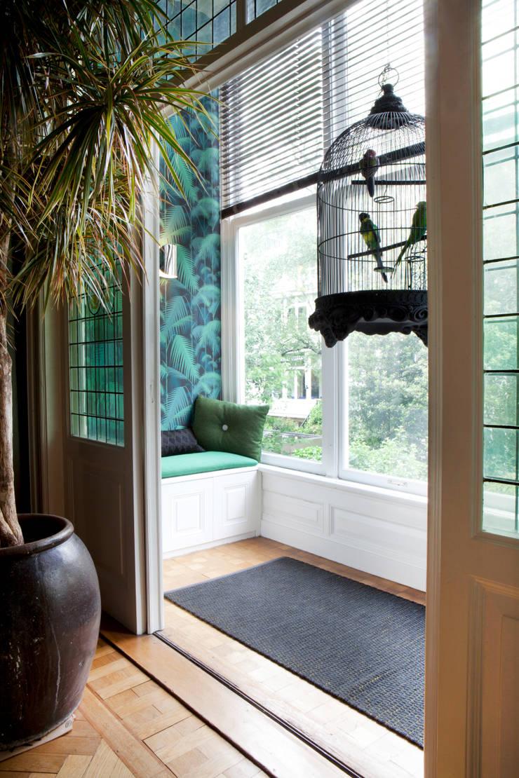 Familiehuis, Amsterdam Zuid:   door Binnenvorm, Tropisch