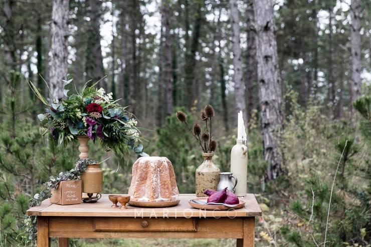 Un mariage dans les sous bois: Jardin de style  par La Bohème - Location de décoration vintage