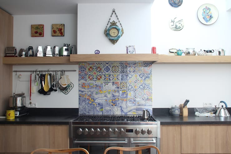 the joy of cooking:  Keuken door José den Hartog