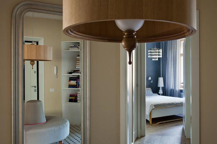 Квартира возле Нескучного сада:  в . Автор – Ирина Крашенинникова: интерьерный дизайн и декорирование,
