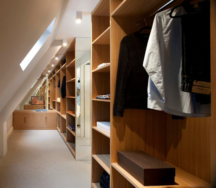 modern Dressing room by TG Studio