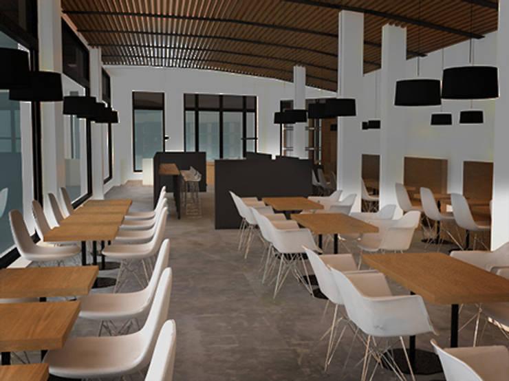 GIRÓ 1: Locales gastronómicos de estilo  de lapeineta interiorismo