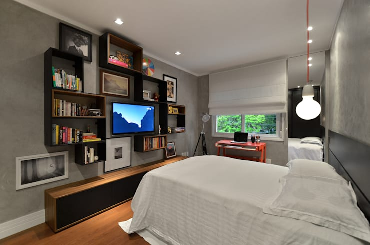 modern Bedroom by Johnny Thomsen Design de Interiores