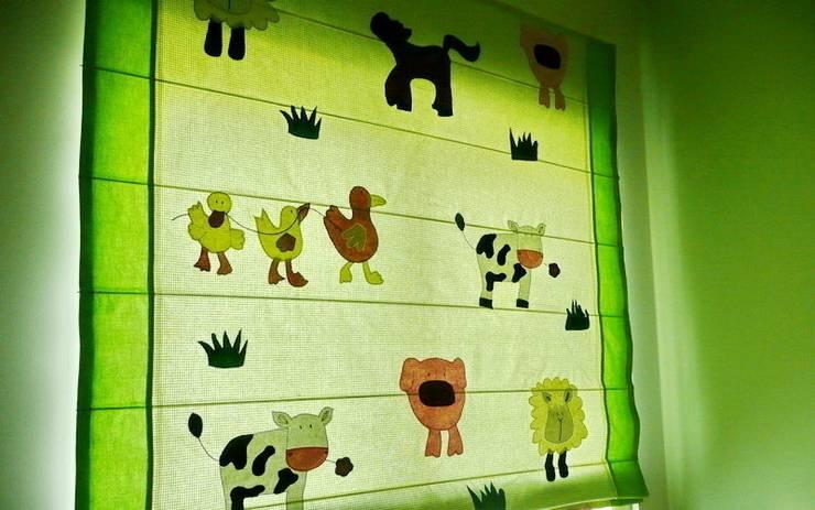 roleta rzymska: styl , w kategorii Pokój dziecięcy zaprojektowany przez 7 razy ładniej,