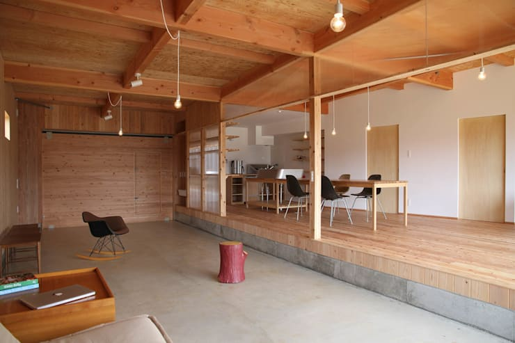 日名内村の家: dygsaが手掛けた和室です。