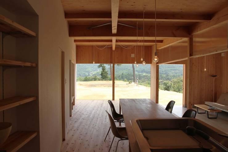 日名内村の家: dygsaが手掛けたキッチンです。