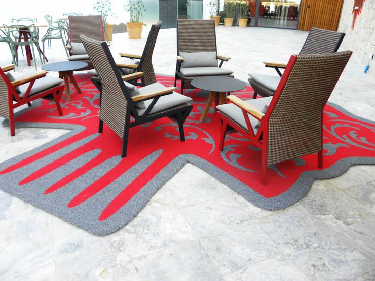 Hoteles de estilo  por Alfombras Veo Veo