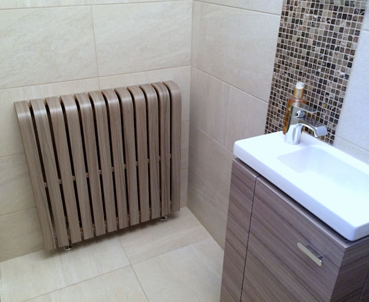 modern Bathroom by Cool Radiators? It's Covered!
