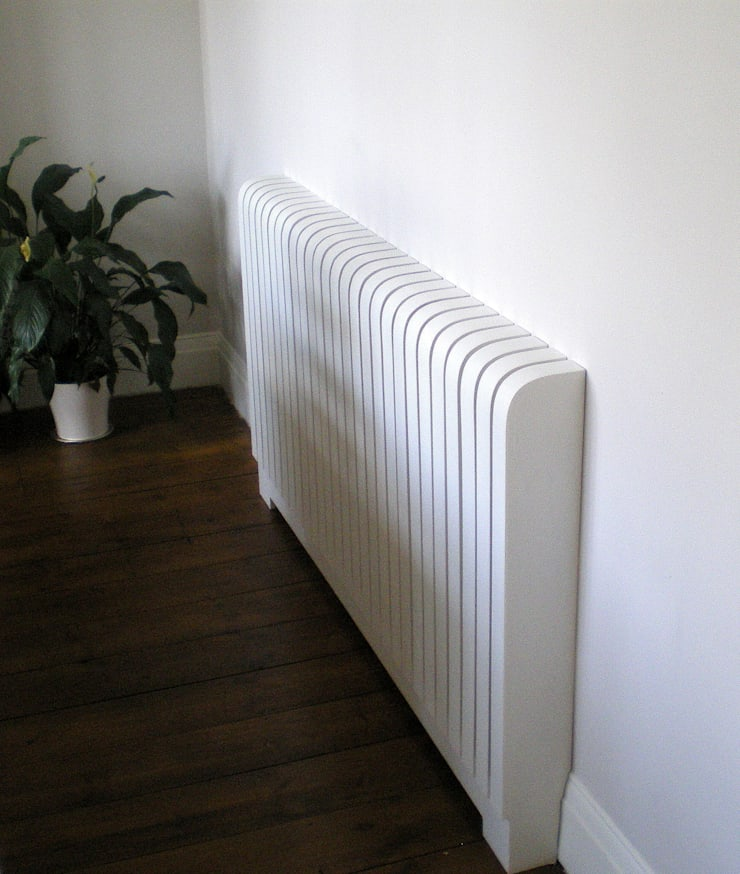 Painted Radiator Cover:  Living room by Cool Radiators? It's Covered!