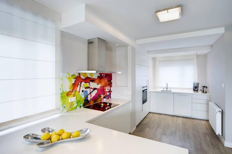 S Z K Ł O  we wnętrzu: styl , w kategorii Kuchnia zaprojektowany przez DK architektura wnętrz