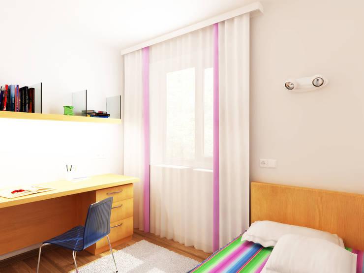 Переработка квартиры 1962 года: Детские комнаты в . Автор – Дизайн студия Александра Скирды ВЕРСАЛЬПРОЕКТ