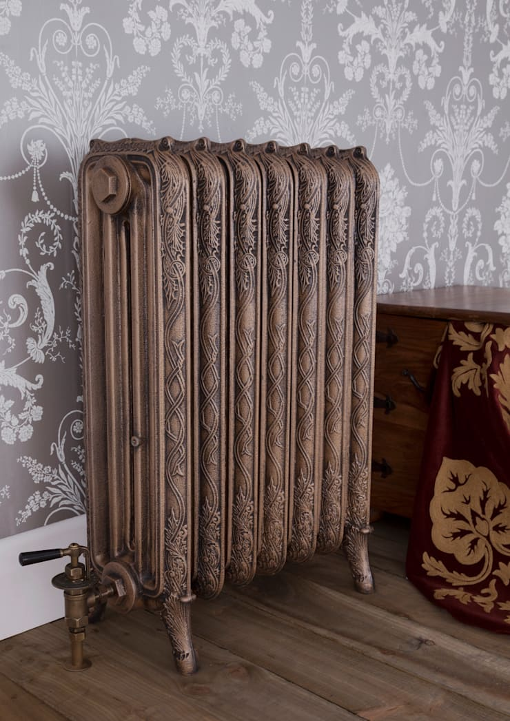 Carron Cast Iron Radiator - 4 Column Ribbon :  Bathroom by UK Architectural Antiques