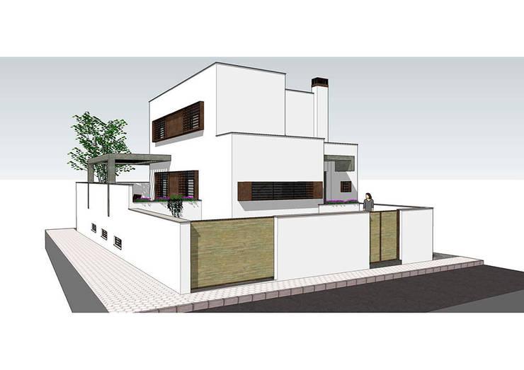 casa Mingorance/Roldán: Casas de estilo  de Alejandro Ramos Alvelo / arquitecto