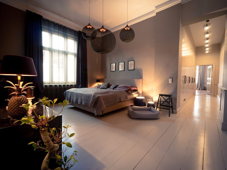Bedroom by Gleba + Störmer