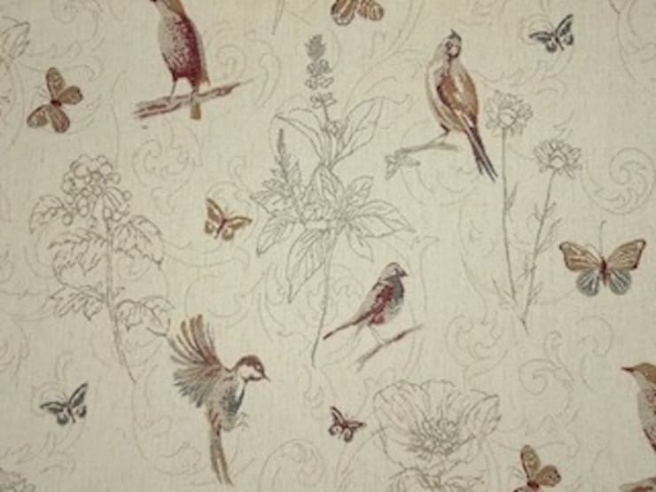 Woodland Birds Tapestry Fabric :  Windows & doors  by The Millshop Online
