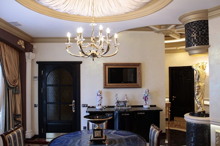 Античная эклектика: Столовые комнаты в . Автор – blackcat design,