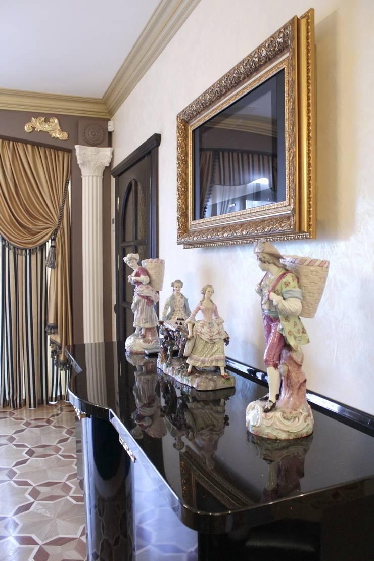 Античная эклектика: Столовая комната в . Автор – blackcat design,