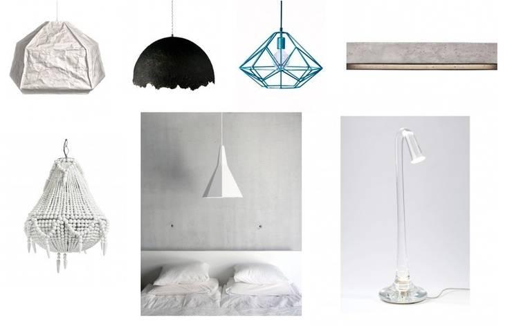 Oświetlenie www.totodesign.pl : styl , w kategorii Domowe biuro i gabinet zaprojektowany przez Toto Design