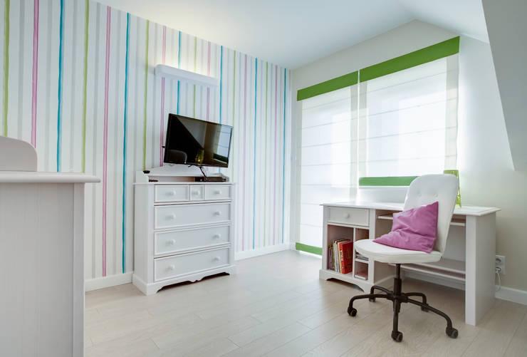 S Z K Ł O  we wnętrzu: styl , w kategorii Pokój dziecięcy zaprojektowany przez DK architektura wnętrz