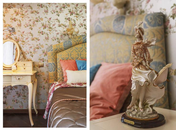 Статуэтка  дама в шляпке. : Спальная комната  в . Автор – Ольга Макарова (Экодизайн) ,