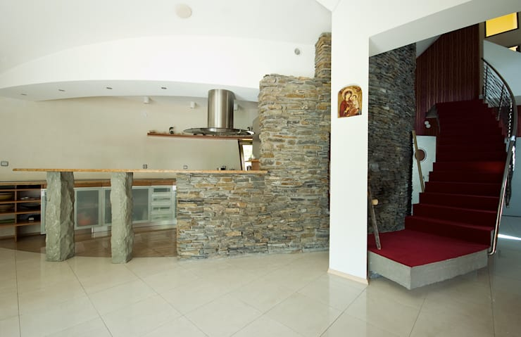 Dom Własny : styl , w kategorii Kuchnia zaprojektowany przez autorskie studio architektury