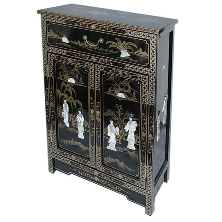 Chinese Lacquer Cabinet:  Living room by Asia Dragon