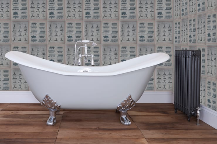 Cast Iron Banburgh Large Bath from the UKAA Bathroom Range :  Bathroom by UK Architectural Antiques