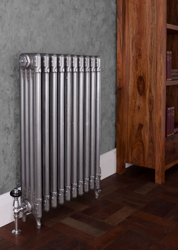 Deco Bespoke Cast Iron Radiator by Carron :  Bathroom by UK Architectural Antiques
