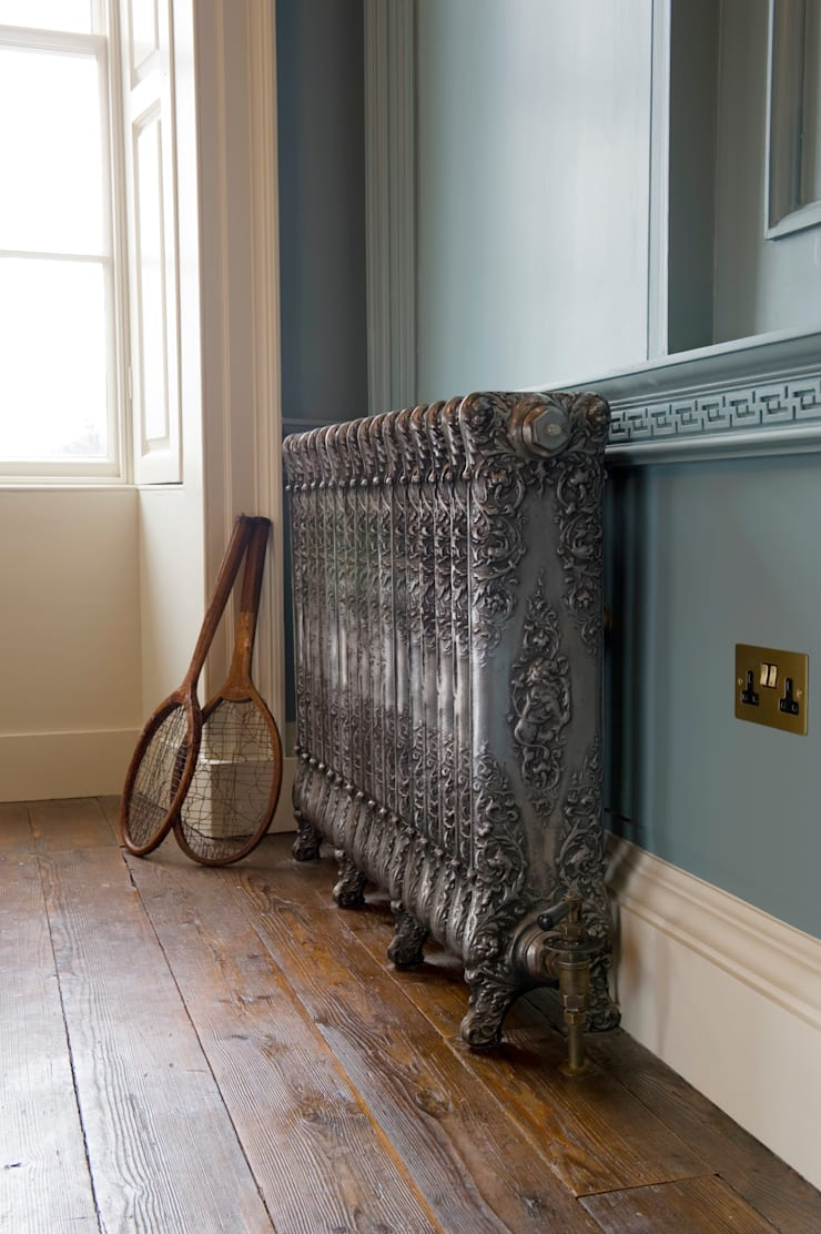 Verona Cast Iron Radiator is available to purchase at UKAA :  Bathroom by UK Architectural Antiques