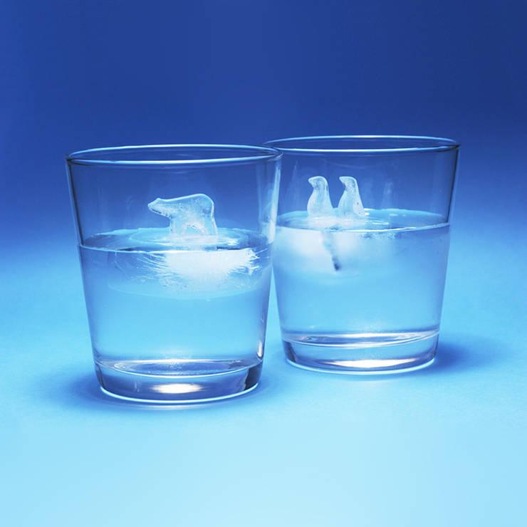 POLAR ICE by Hayashi Atsuhiro: common uncommon의  다이닝 룸