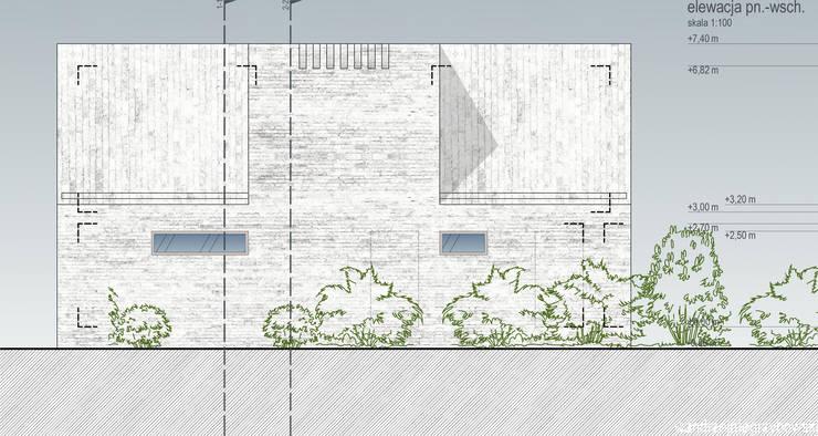 Dom w krajobrazie kujawsko-pomorskim – projekt konkursowy: styl , w kategorii  zaprojektowany przez RTP Consulting Sp. z o.o.