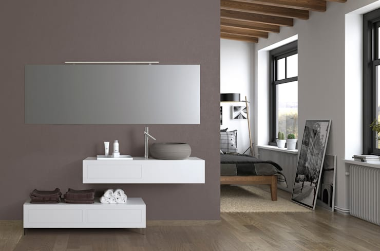 Mueble Goyet: Baños de estilo  de Astris