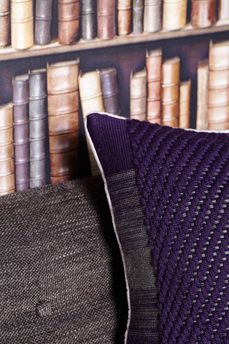 40x40 Center twill detail:  Living room by WLE London