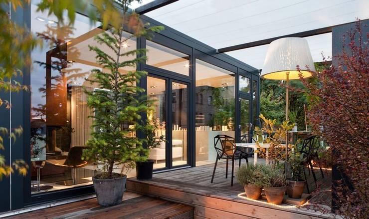 Living in a Box - Terrasse:  Terrasse von Raumfreiheit