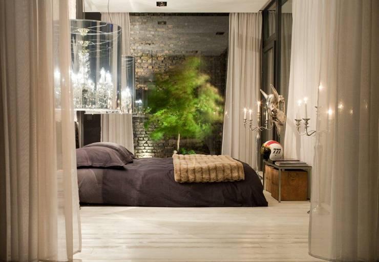 Living in a Box - Schlafbereich:  Schlafzimmer von Raumfreiheit
