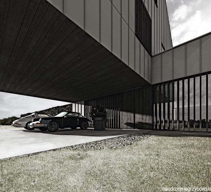 Dom z długą nazwą: styl , w kategorii Domy zaprojektowany przez RTP Consulting Sp. z o.o.