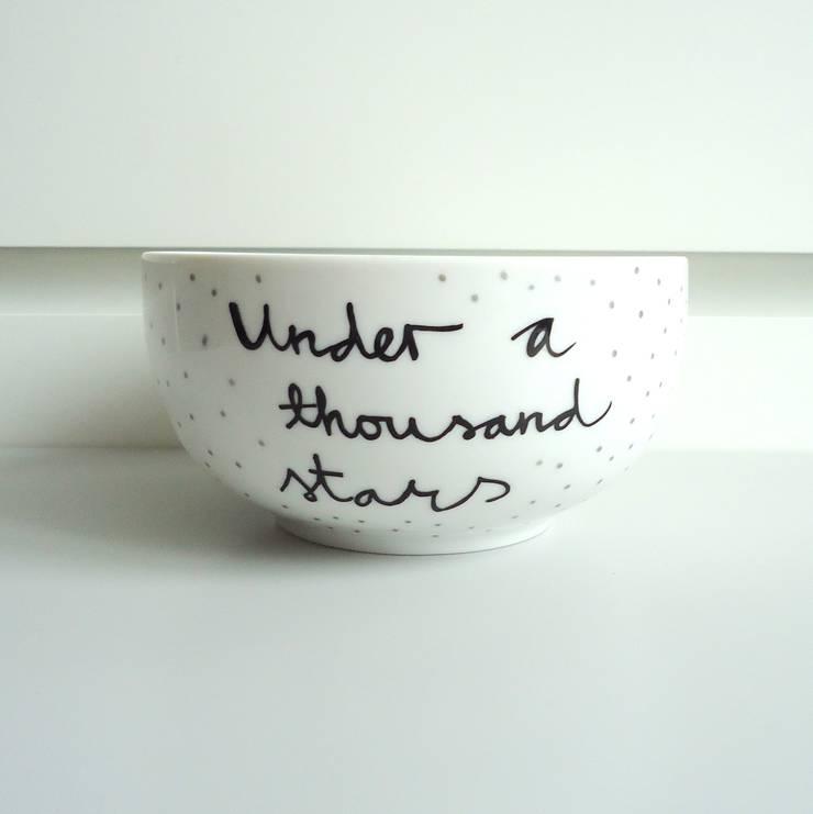 under a thousand stars: styl , w kategorii  zaprojektowany przez My Mug Company,Skandynawski